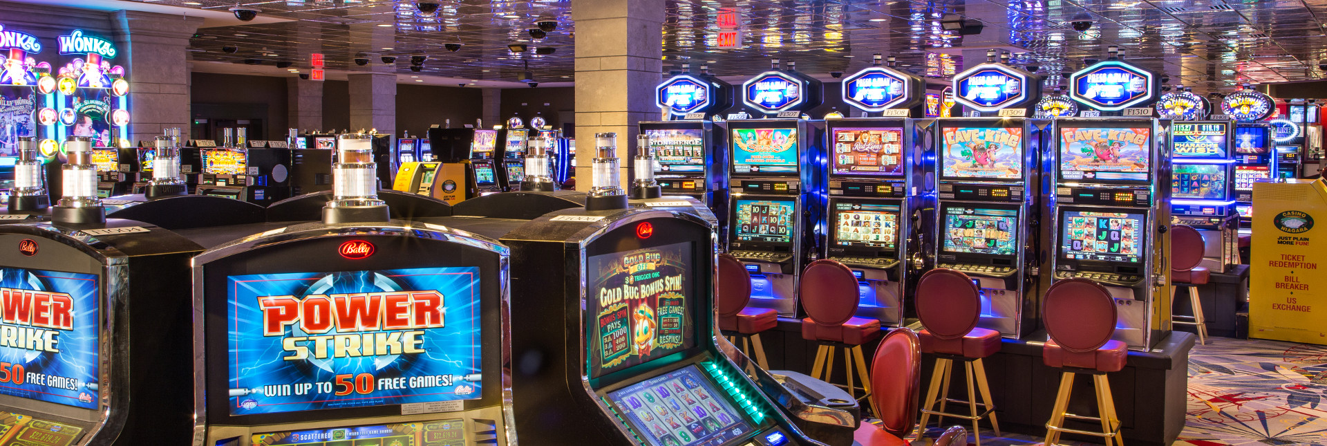 How many slot machines at casino niagara sports stars gambling problems
