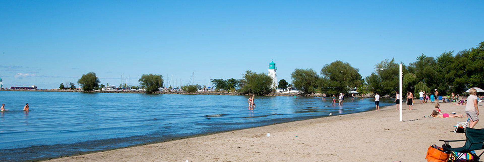 Lakeside Park Beach Visit Niagara Canada