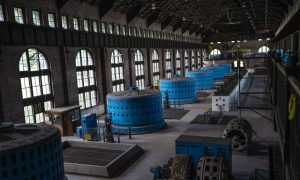 Niagara Parks Power Station - Main Floor