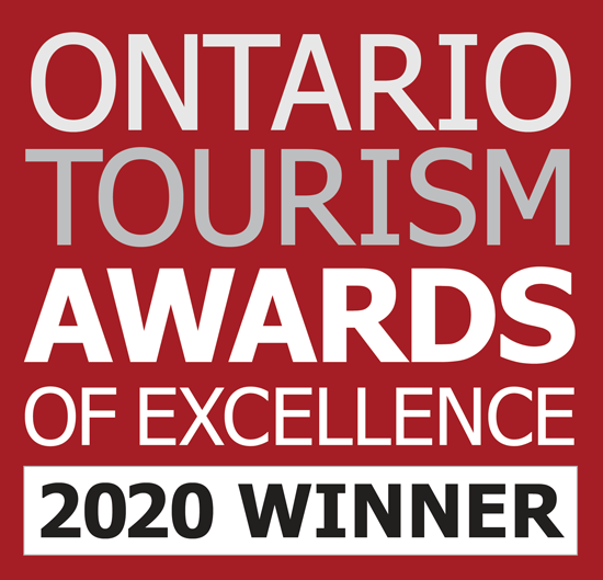 Ontario Tourism Awards of Excellence 2020 Winner